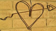 Rustic Metal Heart with Arrow, Hndcrft'd, Great one of a kind Valentines Gift !!