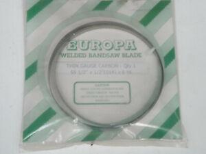 EUROPA WELDED BANDSAW BLADE 591/2' X 1/2'(014) X6 HK