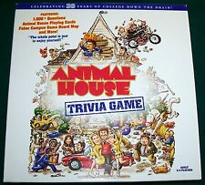 Animal House Trivia Game - 1,000+ Questions - 100% Complete - Excellent!