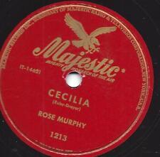 Rose Murphy: sur Majestic label: Miss Annabelle Lee + Cecilia