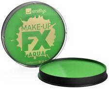 Maquillajes sin marca color principal verde para disfraces