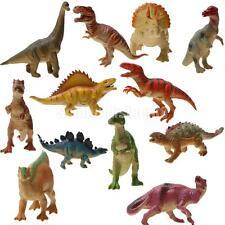 Pack von 12 lebensechten Dinosaurierfiguren Dino Modell Neuheit Kinder