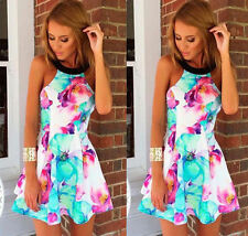 Square Neck Short/Mini Floral Dresses for Women