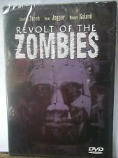 BRAND NEW SEALED DVD REVOLT OF THE ZOMBIES STARS DOROTHY STONE DEAN JAGGER