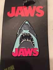 Jaws The Movie Shark Glow in the Dark Lapel Pin Free Ship In USA