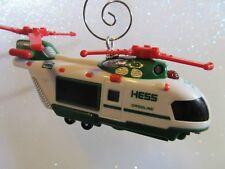 Custom  Hess Gasoline Helicopter  Christmas Ornament