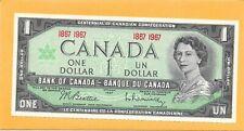 1867-1967 CANADIAN 1 DOLLAR NOTE VERY NICE CRISP (UNC)
