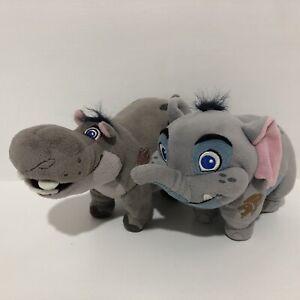 Disney Lion King Lion Guard Mtoto Elephant Beshte Hippo Small Bean Plush Toys