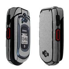 Skinomi Brushed Aluminum Skin & Screen Protector for Kyocera DuraXe
