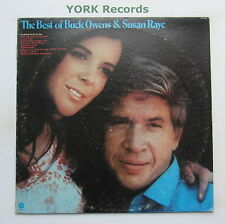 BUCK OWENS & SUSAN RAYE - The Best Of .... - Ex Con LP Record Capitol ST-11084