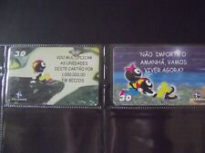 2001 BAIANA  ANT Set of 2 Different Phone Cards from Brazil