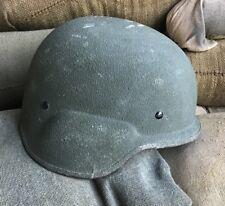 US Marines LWH Gefechtshelm Army Helm Helmet USMC Marine Corps OD Green Medium