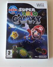 Juego de Wii: Super Mario Galaxy, original España, completo