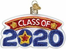 Old World Christmas Class Of 2020 Graduation Glass Christmas Ornament 36276