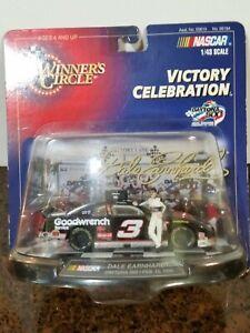 1998 NASCAR Winners Circle Dale Earnhardt Victory Celebration Daytona 500 NOS