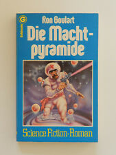 Ron Goulart Die Machtpyramide Science Fiction Roman Goldmann