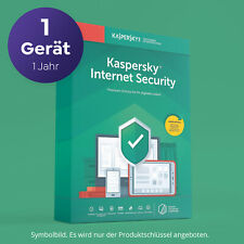 Kaspersky Internet Security 2021 1 PC / 1 Jahr - NEU - Deutsch Sofort per Email