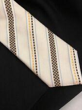 "Canali XL Designer Necktie Silk Tie Made in Italy 60"" long"