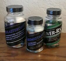 Hi Tech Pharmaceuticals stack testo/estrogen blocker/liver protection