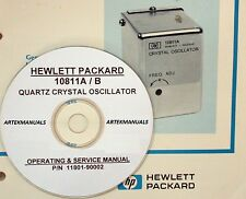 HP 10811A 10811B Quartz Oscillator: Operating & Service  Manual