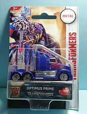 Transformers The Last Knight Optimus Prime Diecast Model Car Dickie Toys Hasbro