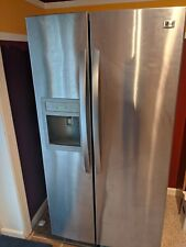 LG Silver Side by Side door refrigerator used Great Condition