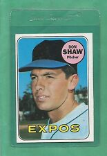 1969 Topps Montreal Expos Don Shaw # 183 NM-MT Low Pop!!
