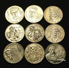 LOT OF NINE COMMEMORATIVE 2 ZLOTY COINS OF POLAND - POLISH FAMOUS PAINTERS