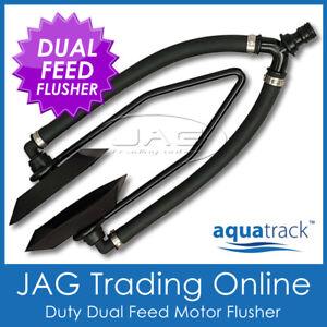 AQUATRACK DUAL FEED OUTBOARD BOAT MOTOR WATER FLUSHER-Large Rectangule Ear Muffs