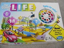 Hasbro The Game of Life Board Game SPIN TO WIN #04000  2013