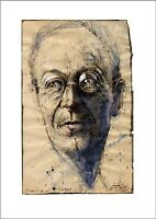 """Andreas Noßmann Kunstdruck - """"Hermann Hesse"""""""