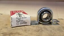 "*NEW* Dayton #2X900 Pillow Block Rubber Mounted Ball Bearing (1"" Bore)  M135"