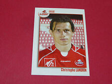 147 CHRISTOPHE LANDRIN LILLE LOSC OSC DOGUES PANINI FOOT 2004 FOOTBALL 2003-2004