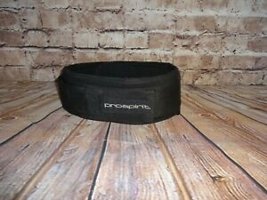 """Nylon Adjustable Weight Lifting Belt 4"""" Wide Buckle Men's One Size Outer Pocket"""