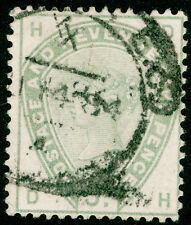 Sg193, 5D opaco verde, BUONO usato. CAT £ 200. DH