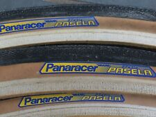 Panaracer Pasela 27 x 1 1/4 cycle tyres. 3 Tyres