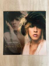 """Stevie Nicks """"Crystal Visions"""" 2-Sided U.S. Promo Flat - Fleetwood Mac Singer"""