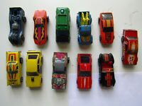 LOT OF 11 VINTAGE MATTEL HOT WHEELS CARS CORVETTE MUSTANGS VAN PICKUP RARE
