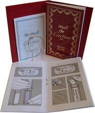 Must de Cartier Briquet Lighter Red Instruction Booklet Manual User Guide & Case
