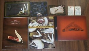 Lot of Case Knives Product Guides Catalogs Collectors Guides.. Look!