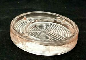 Coaster / Ashtray PINK Vintage For MCKEE Shot Glass Cup