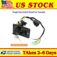 12V Single Key Switch Panel Assembly For Yamaha Outboard Yacht 704-82570-08-00