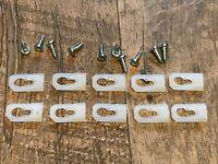 "10 pcs quarter body door trim clips /& nuts for 1/""-1-1//8/"" wide moulding Jeep 622"
