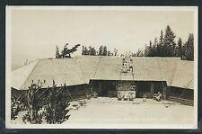 OR Mt. Hood RPPC c.1920 CLOUD CAP INN & Mt. ADAMS in the Distance by Eddy No.124