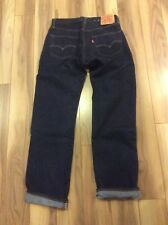 Vintage Levi's 501 Big E Deadstock Made In USA Selvage Waist 30 Inseam 32
