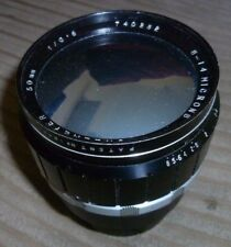"Raro Dallmeyer 50 mm F/0.8 8 - 14 µ lente multicapa recubierto 3"" ref I.3915/X4"