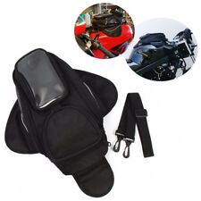 MOTORCYCLE MAGNETIC TANK BAG WITH GPS/PHONE POUCH MOTORBIKE/BIKE BLACK CHN NEW