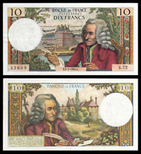 Billet France - 10F Voltaire - 06.02.64 - S 72 - SUP - Fay : 62.8