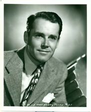 HENRY FONDA Great 1930s 8x10 Portrait Photo with Suit and Tie