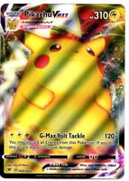 Pokemon Card PIKACHU VMAX Ultra Rare Full Art Holo 044/185 Vivid Voltage NEW